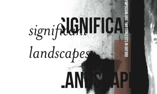 Significant landscape