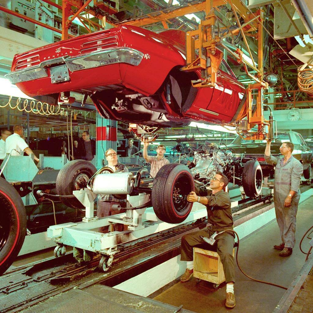 1969 Assembly Pontiac Trans Am